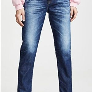 Never worn. AG Ex-Boyfriend Slim Jeans.